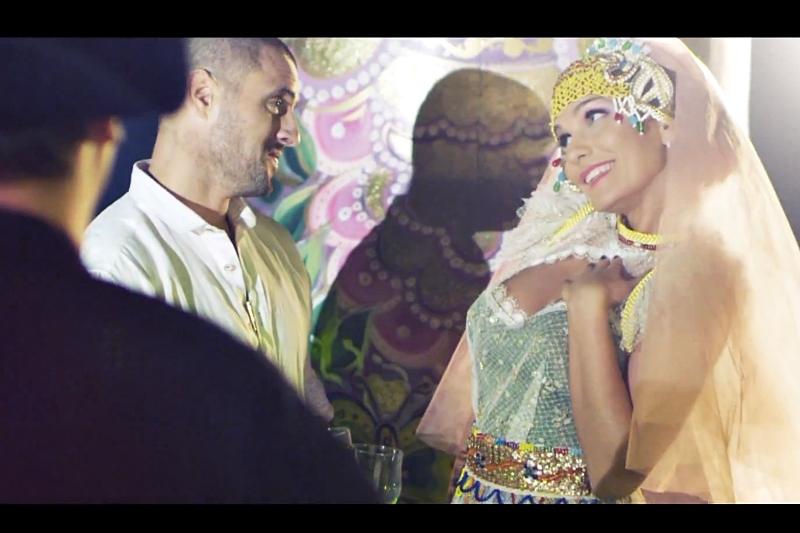 Secvență videoclip Anna Leski -