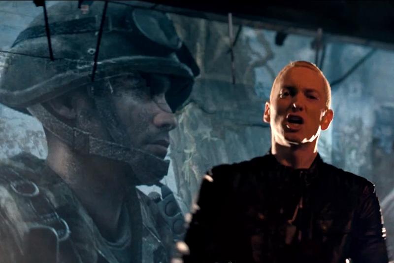 Secvență videoclip Eminem -
