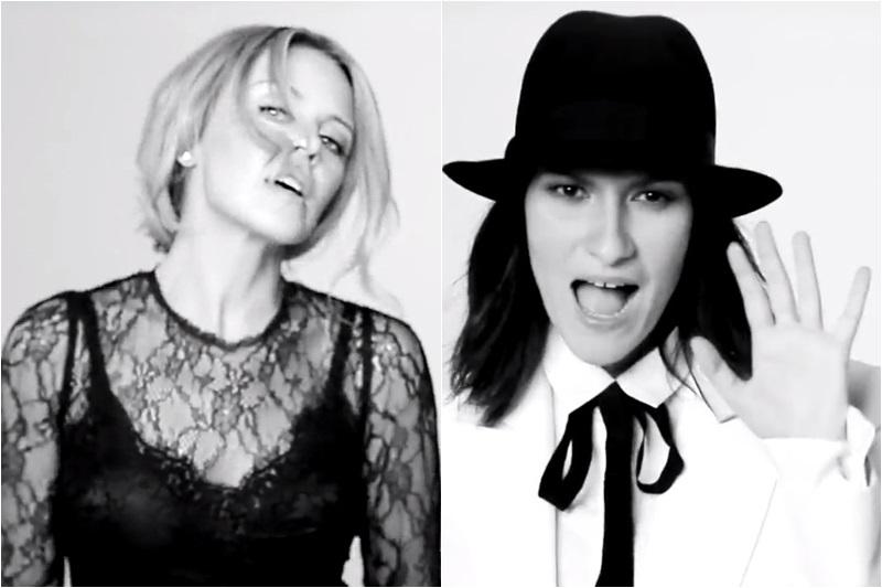 Laura Pausini și Kylie Minogue -