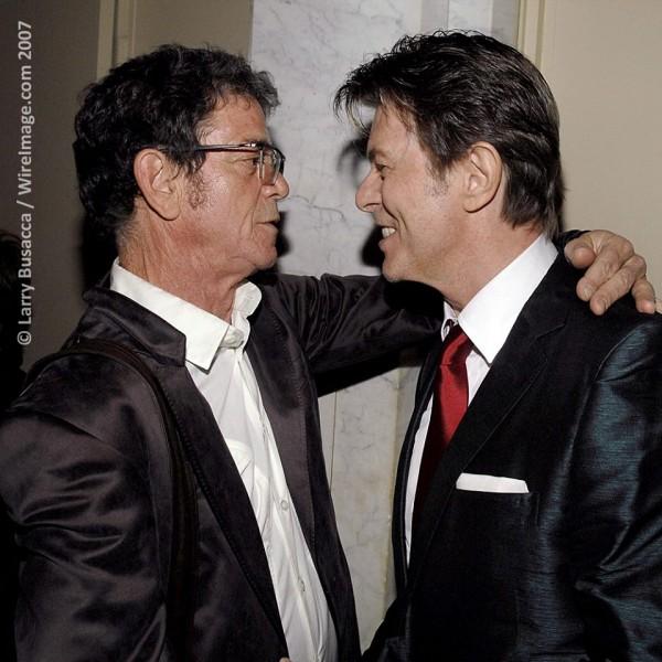 Lou Reed și David Bowie