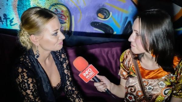 Delia în cadrul unui interviu InfoMusic.ro