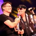 Morten Harket (A-ha) și Klaus Maine (Scorpions)