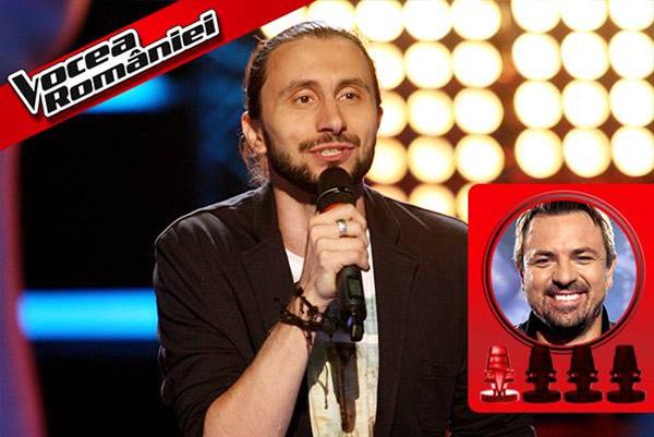 Adrian Nour la Vocea României