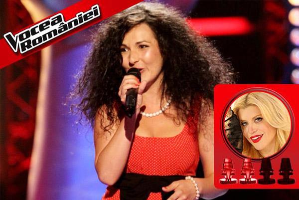 Ana Diana Kalmar la Vocea României