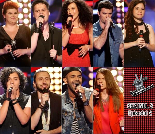 Vocea României - Sezonul 3, Episodul 2