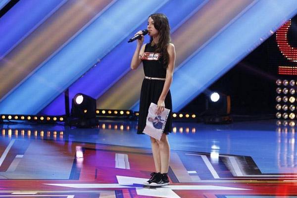 Bianca Roșu și-a câștigat idolul ca fan