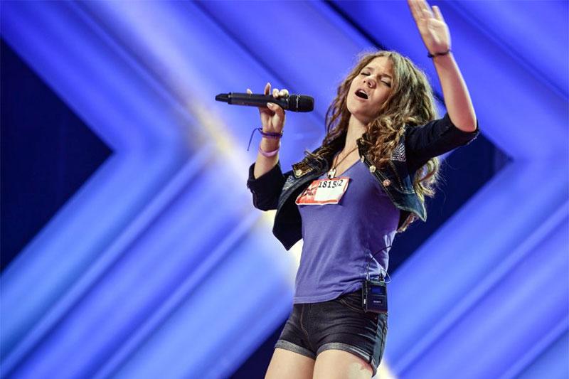 Miruna Diaconescu la X Factor Romania (2013)
