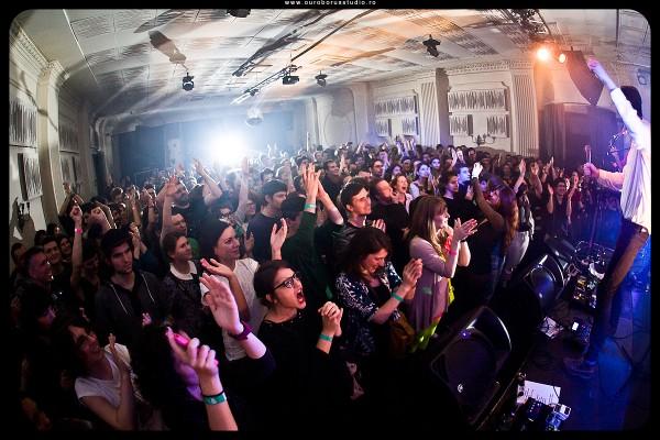 Concert Efterklang în Club Control, 13 noiembrie 2013