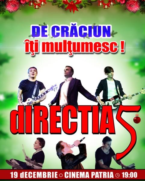 Direcția 5 - De Crăciun, îți multumesc la Cinema Patria