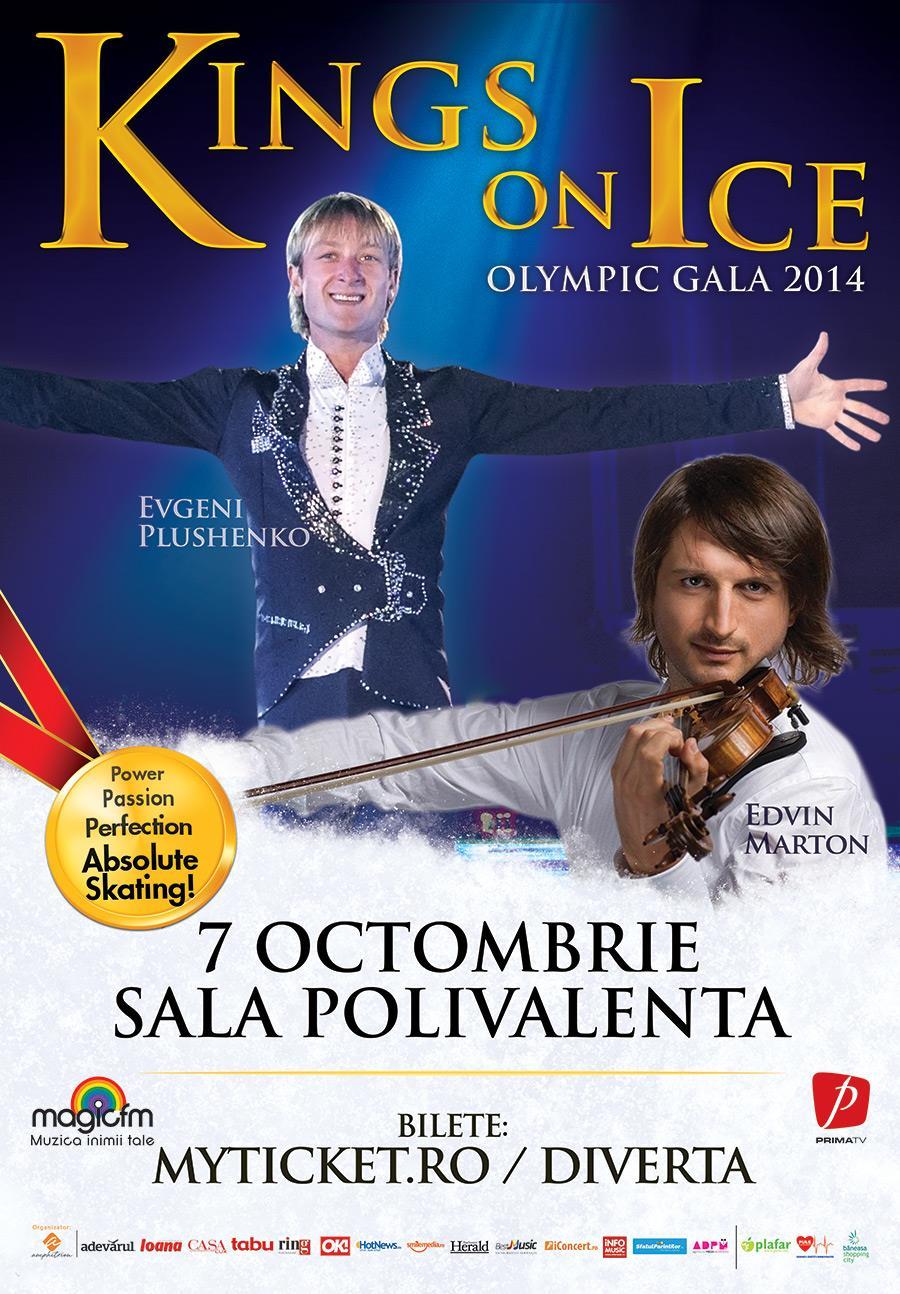 Kings On Ice cu Evgeni Plushenko