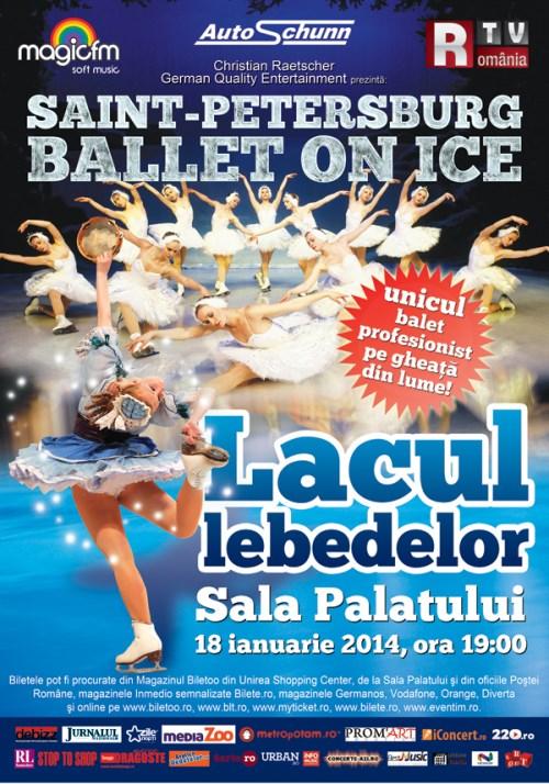 Lacul Lebedelor - Balet pe gheață