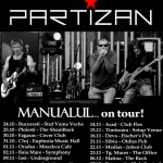 "Afis Partizan - Turneu național ""Manualul...on tour"" 2013"