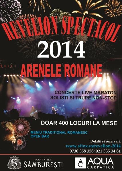 Revelion 2014 - Arenele Romane