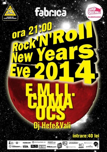 Revelion 2014 - Rock'N'Roll New Years Eve