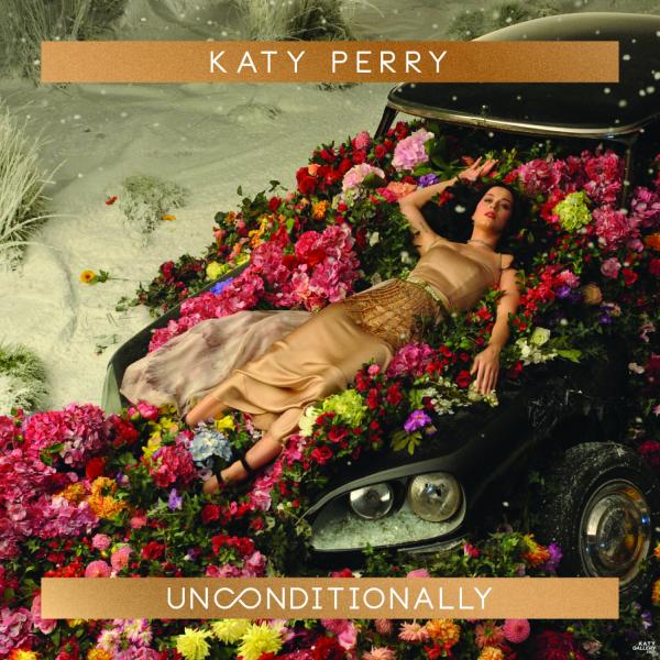 "Katy Perry - ""Unconditionally"" single artwork"
