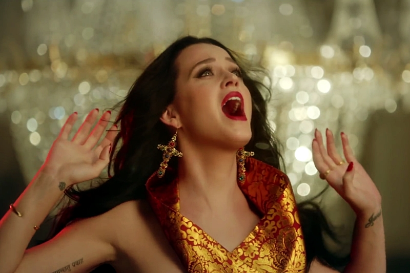 Secvență videoclip Katy Perry -