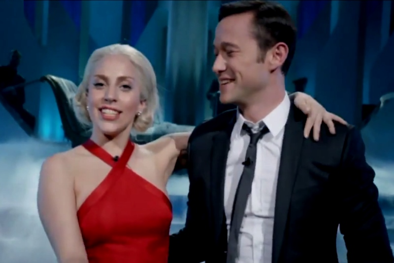 Lady Gaga și Joseph Gordon Levitt -