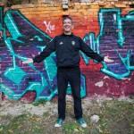 Răzvan Moldovan, chitaristul Partizan, în sesiunea foto pentru InfoMusic.ro
