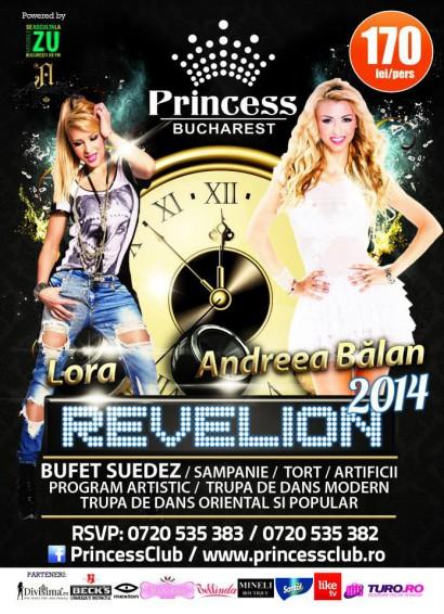 Revelion 2014 în Clubul Princess