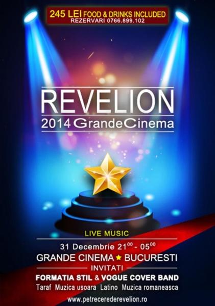 Revelion 2014 Grande Cinema