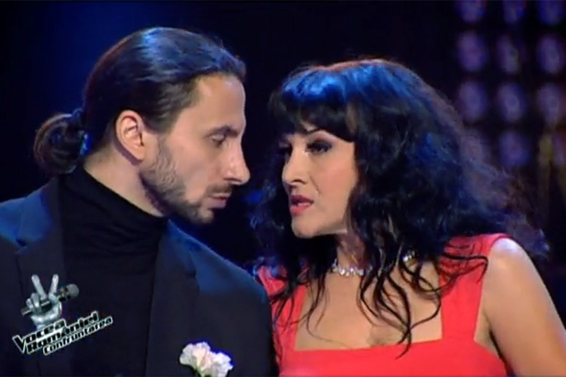 Duel la Vocea Romaniei: Adrian Nour versus Ana Maria Mirică