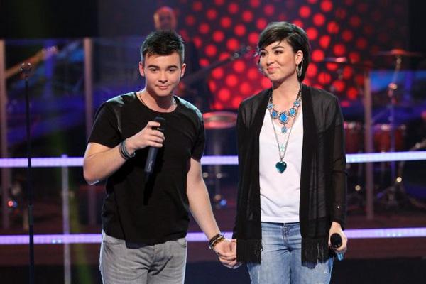 Andrei Loică câștigă cu Fix You (Coldplay)
