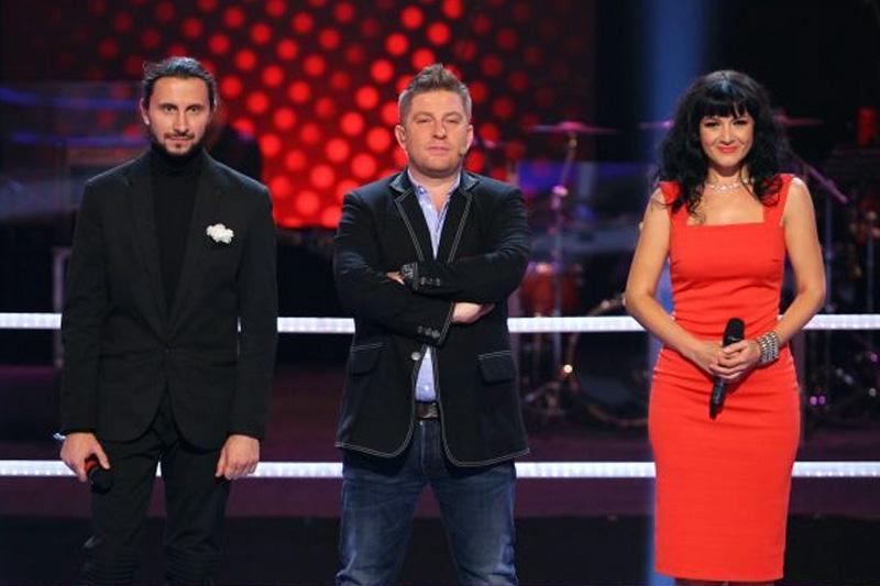 Adrian Nour și Ana-Maria Mirică în duet la Vocea României