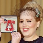 Adele, distinsă cu medalia Most Excellent Order of the British Empire