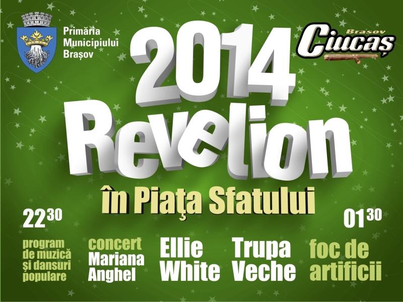 Revelion 2014 în Piața Sfatului la Piața Sfatului Brașov
