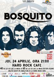 Bosquito la Hard Rock Cafe