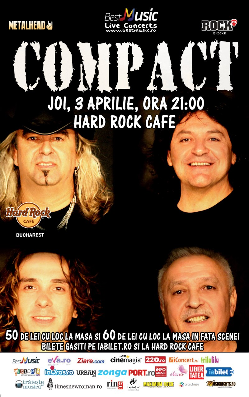 Compact la Hard Rock Cafe