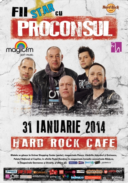 Proconsul la Hard Rock Cafe