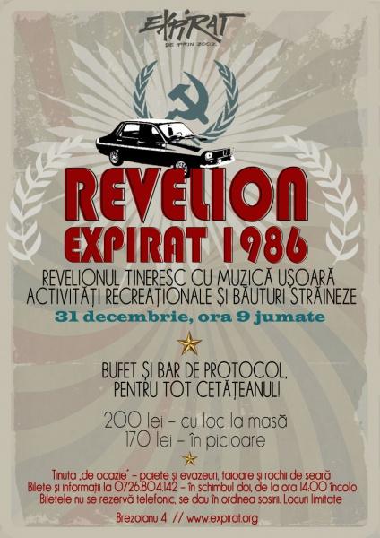 Revelion Expirat 1986 la Expirat Club