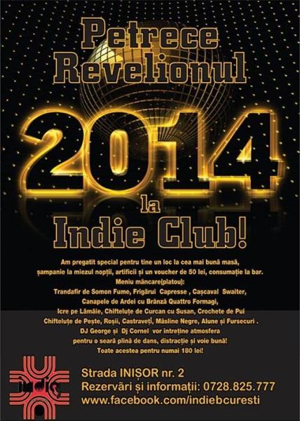 Revelion 2014 în Indie Club