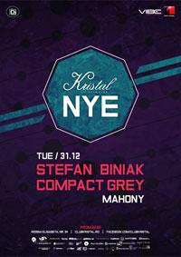 Revelion 2014 în Kristal Glam Club