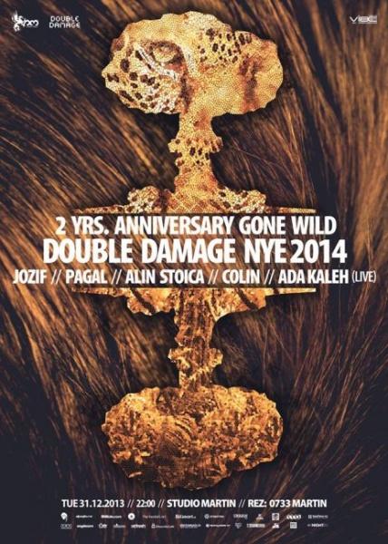 Revelion 2014 - Double Damage NYE la Studio Martin