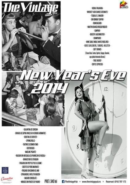 Revelion 2014 la The Vintage