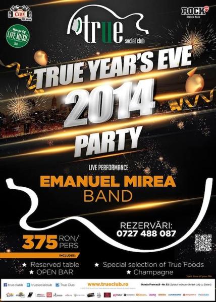 Revelion 2014 în True Club