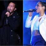 Alicia Keys și John Legend, duet tribut în memoria lui Nelson Mandela