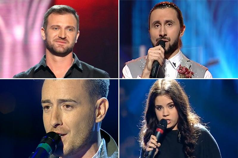 Finaliștii de la Vocea României