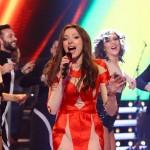 Georgia Dascălu a lansat piesa Ambition în finala Vocea României