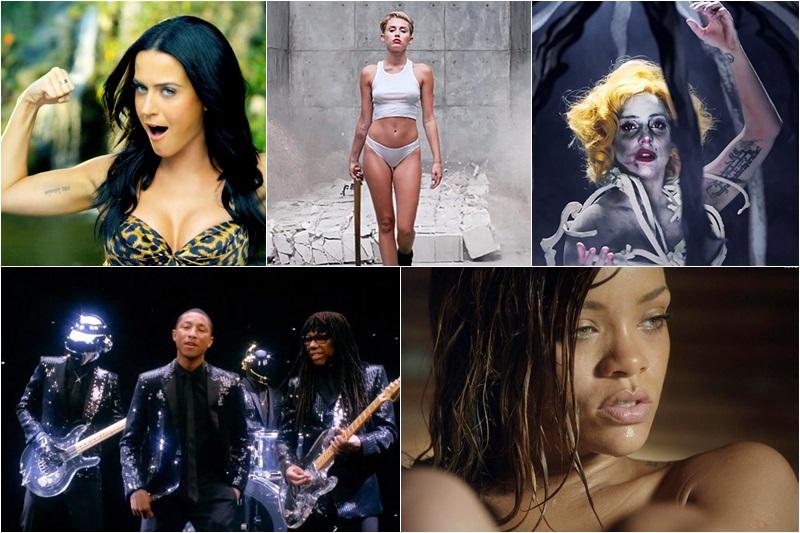 Katy Perry / Miley Cyrus / Ladu Gaga / Daft Punk / Rihanna