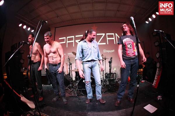 Poza de final: Trupa Partizan in concert in Club Control pe 5 decembrie 2013
