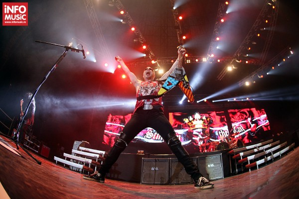 Scorpions în concert la București pe 14 decembrie 2013