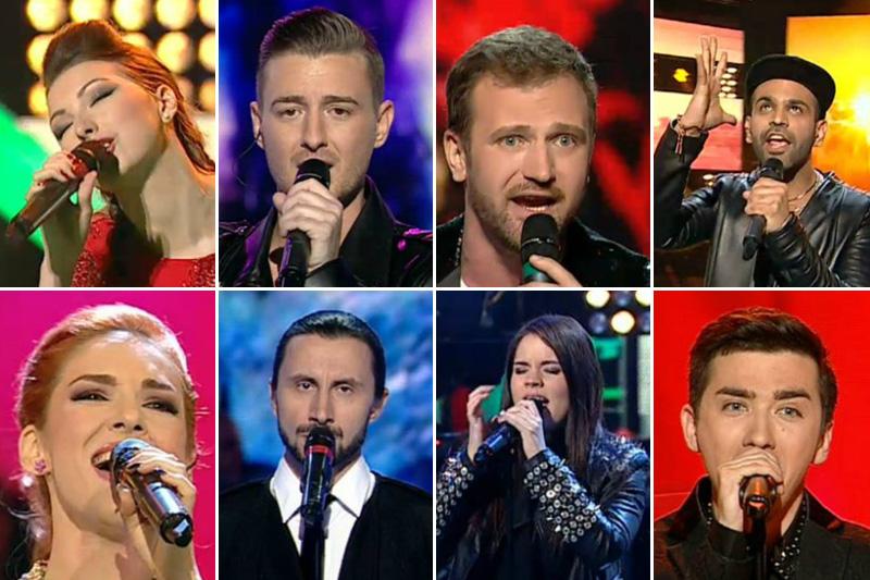 Concurenții calificați în următoarea etapă Vocea României după cel de-al doilea live al sezonului