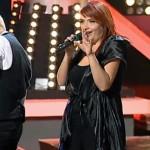 Politista Claudia Iuga, prima în preferințele publicului în echipa Smiley la live-ul Vocea României