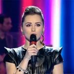 Denisa Moșincat a interpretat piesa Iartă a Mihaelei Runceanu pe 1 decembrie la Vocea României