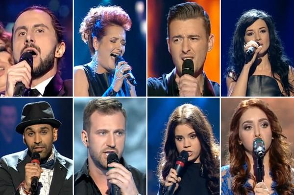 Semifinalistii de la Vocea Romaniei