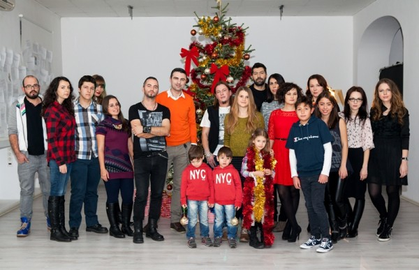 Filmare de Crăciun Vunk