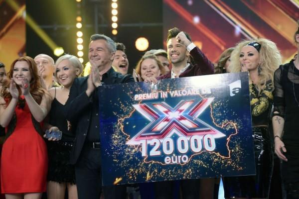 Florin Ristei a câștigat premiul X Factor în valoare de 120000 de euro